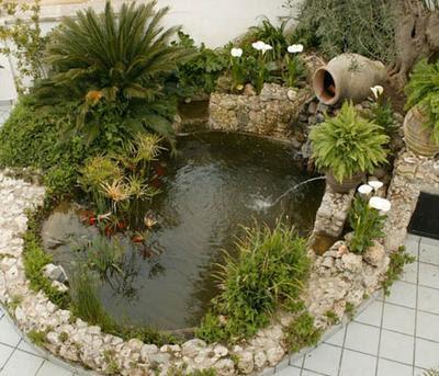 Arte y jardiner a estanques y jardines acu ticos for Estanques para agua