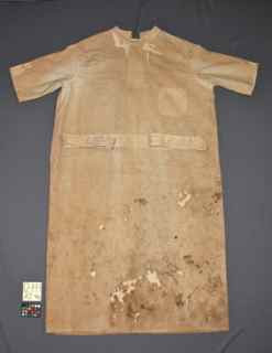 Edison's lab coat, textile conservator Gwen Spicer, conservation treatment, Historic site New Jersey