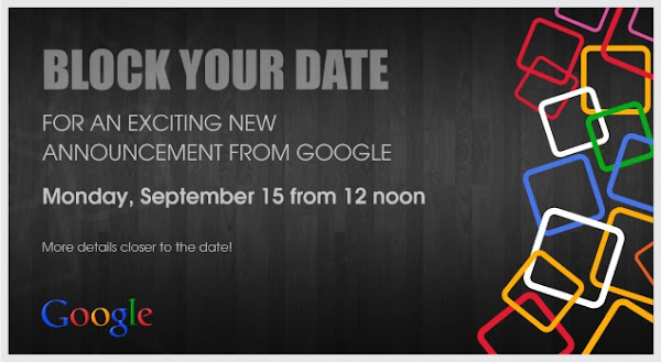 Google schedules September 15 event in India