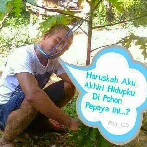 Meme Unik: Meme Lucu Orang Bunuh Diri Di Pohon