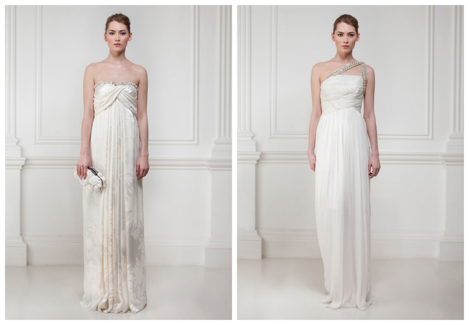 Boho Grecian Wedding Dresses By Matthew Williamson