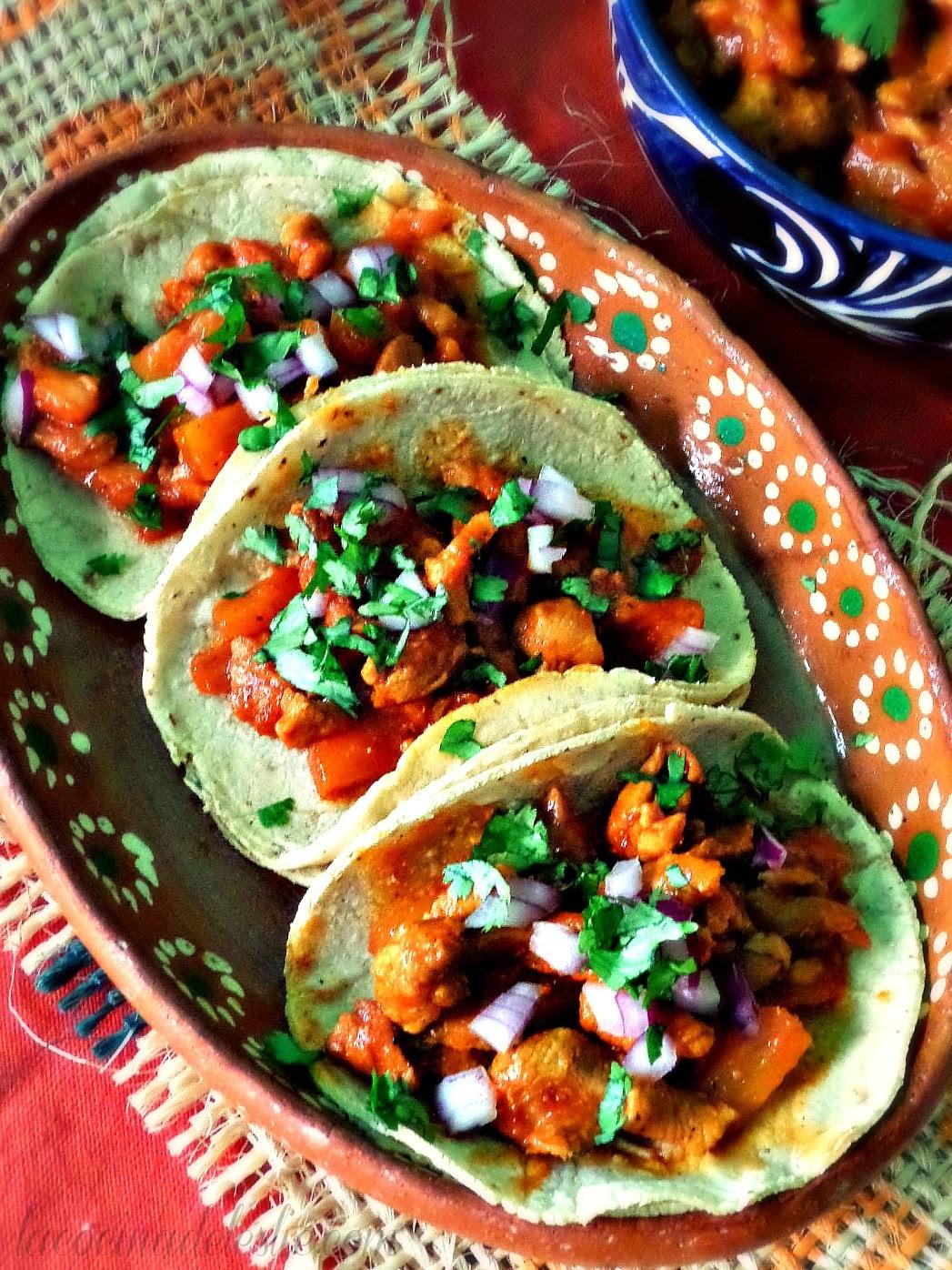 Homemade Tacos al Pastor - lacocinadeleslie.com