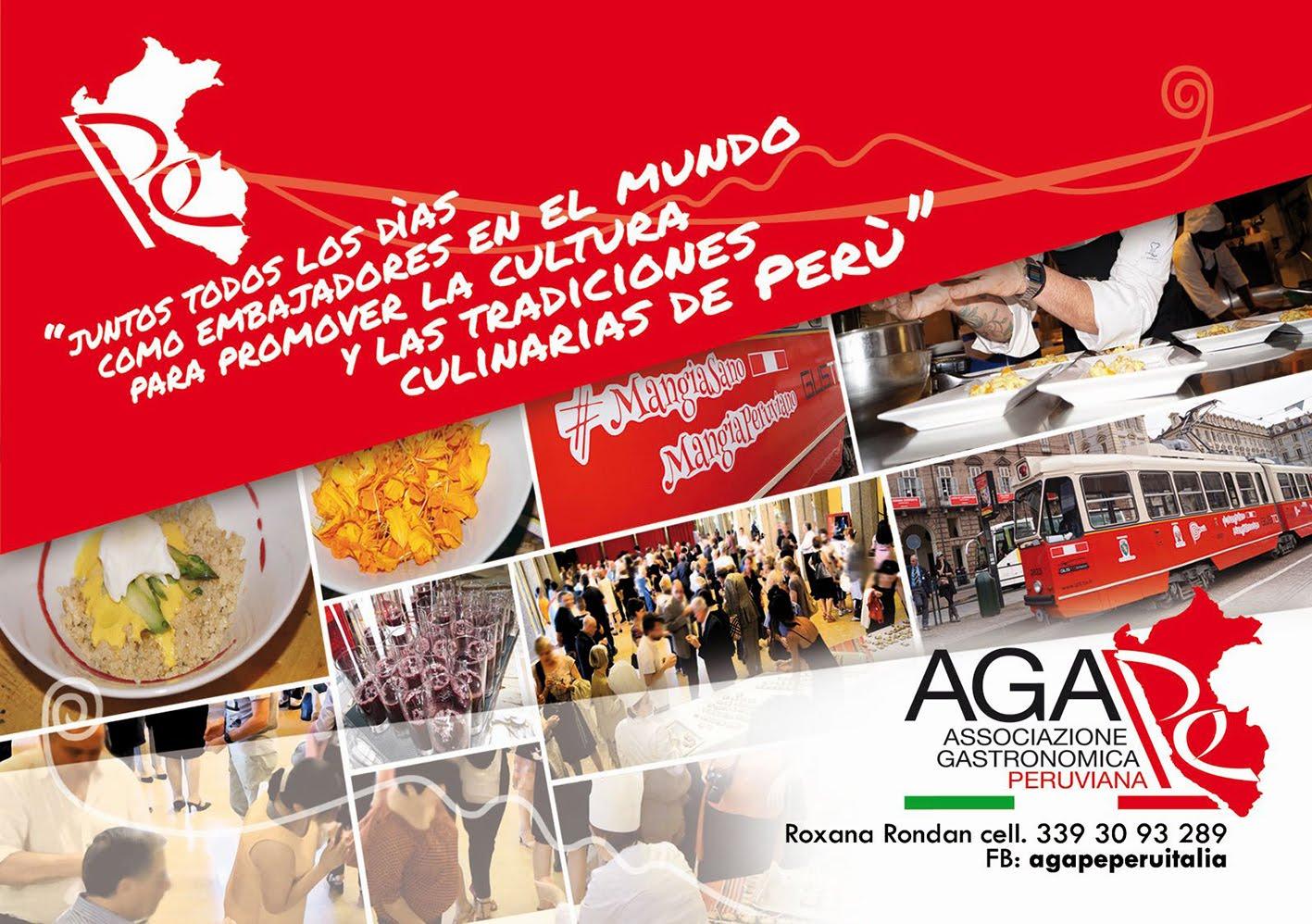 Associazone Gastronomica Peruviana Ágape de Torino