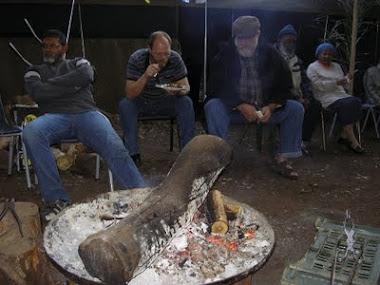 Campfire at Sukkot