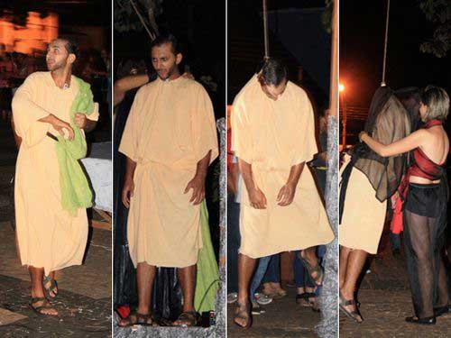 Image result for judas actor hangs himself