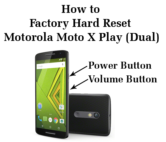 how to hard reset motorola moto e the antethesis