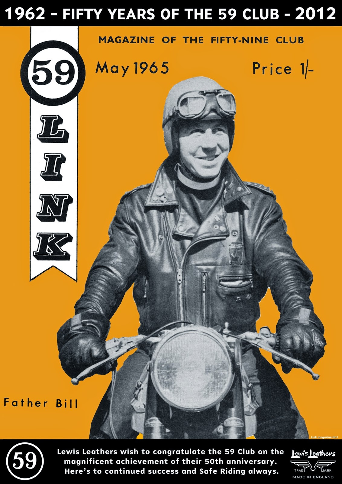 Lewis Leathers - 59 Club