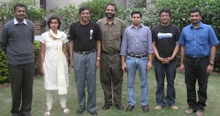 Attendees(LtoR): Naveen, Nirmitha, Arjun,Mahesh,Nadeem, Sunil and Vijay