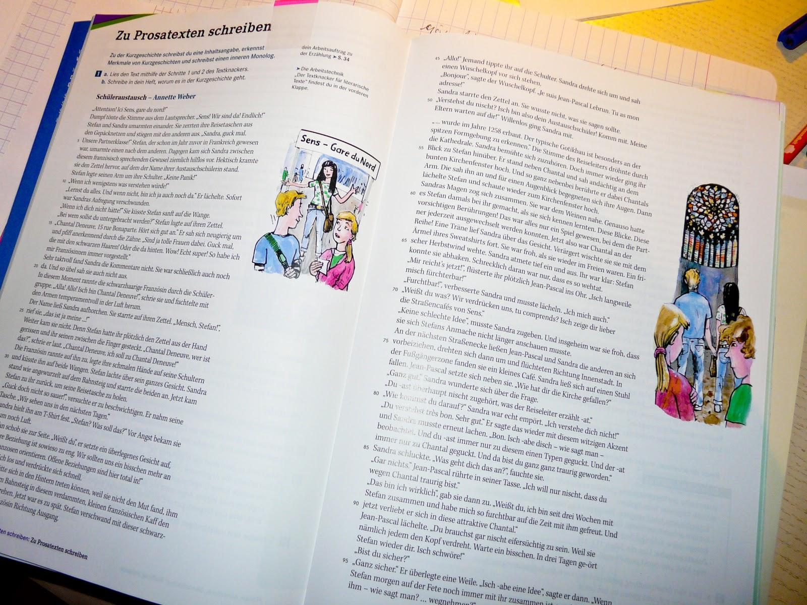 Für klasse 8 kurzgeschichten inhaltsangaben Kurzgeschichten für