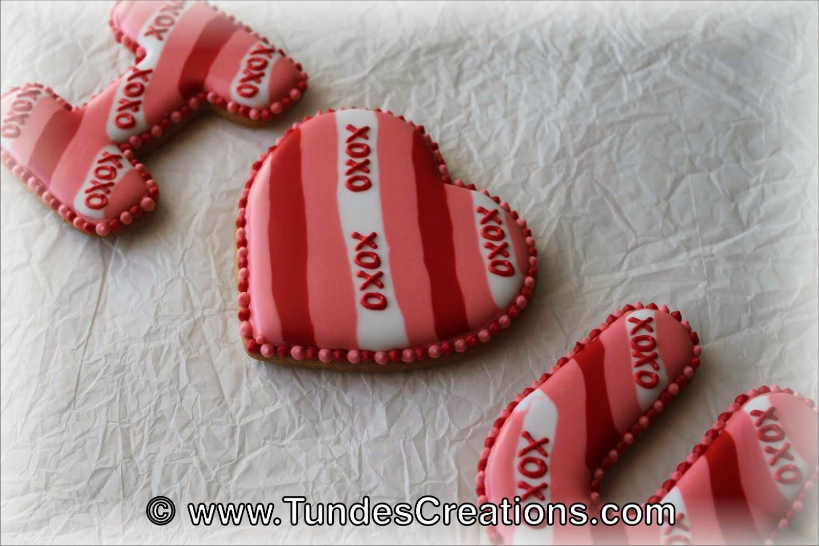 I heart U cookies