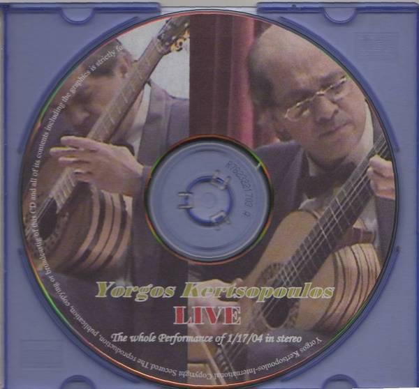 Parnassos CD-Kertsopoulos LIVE