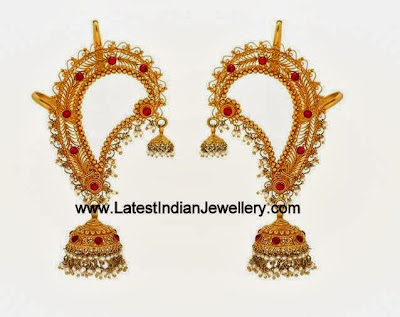 All Over Ear Jhumkas