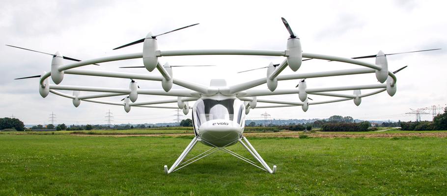 Elicottero A Due Eliche : Futurix volocopter l inedito elicottero elettrico