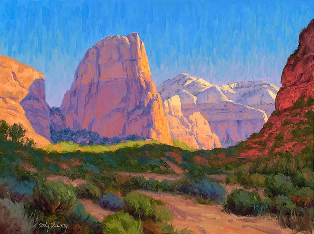 Cuadros modernos pinturas y dibujos pinturas de paisajes - Cuadros de pintura ...