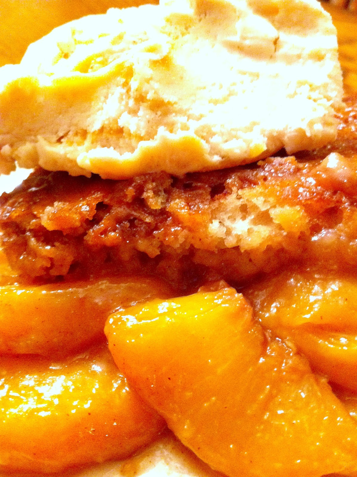 Cooking The Amazing: PEACH COBBLER