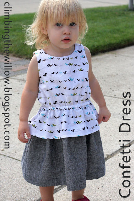 Free Sewing Pattern: Confetti Dress