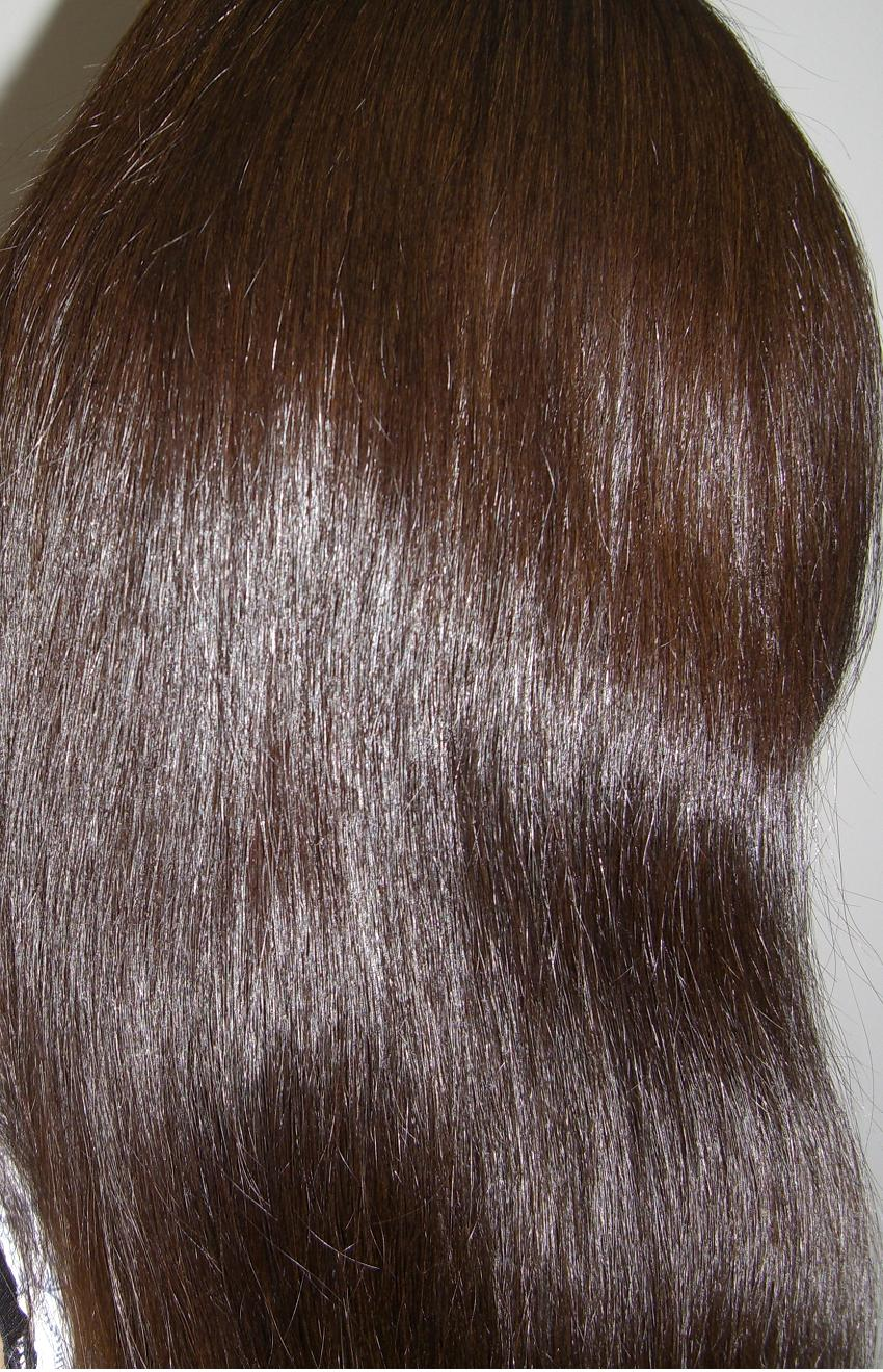 Ash brown light hair color