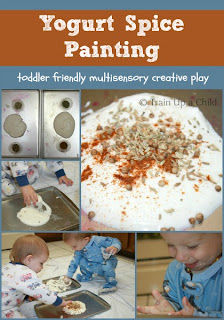 Yogurt Spice Painting