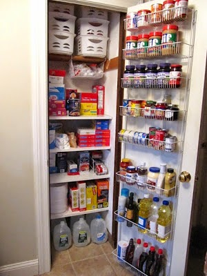 food pantry organization