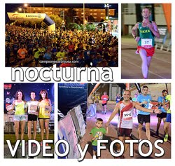 Carrera Nocturna de Aranjuez: Fotos y Video
