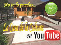 VIDEO EN YOUTUBE CASA DE LA CULTURA