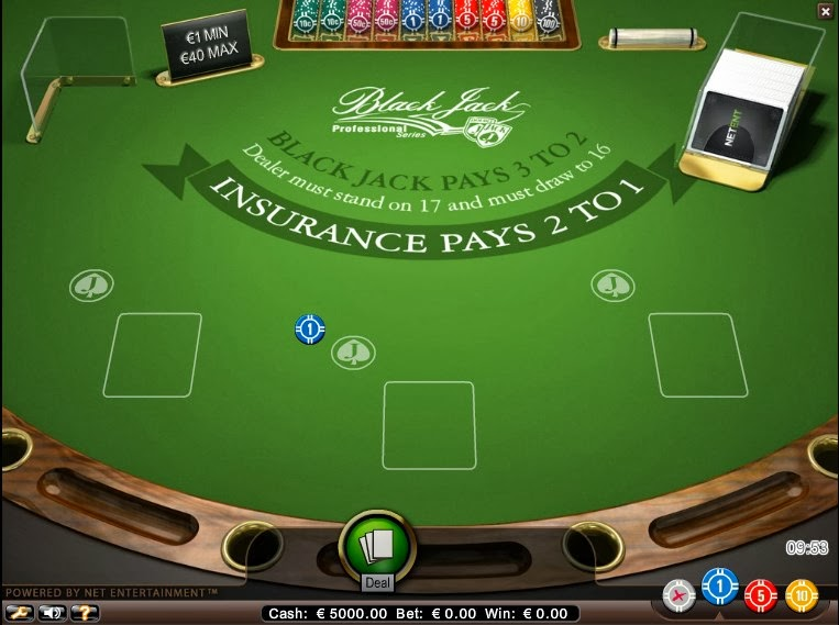 Blackjack op 2