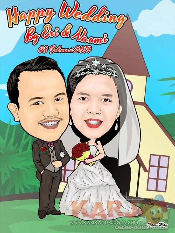 http://www.karikaturjogja.com/2014/03/JasaKarikaturKomputerWedding.html