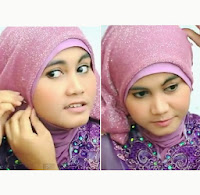 Tutorial Hijab Gliter Kebaya