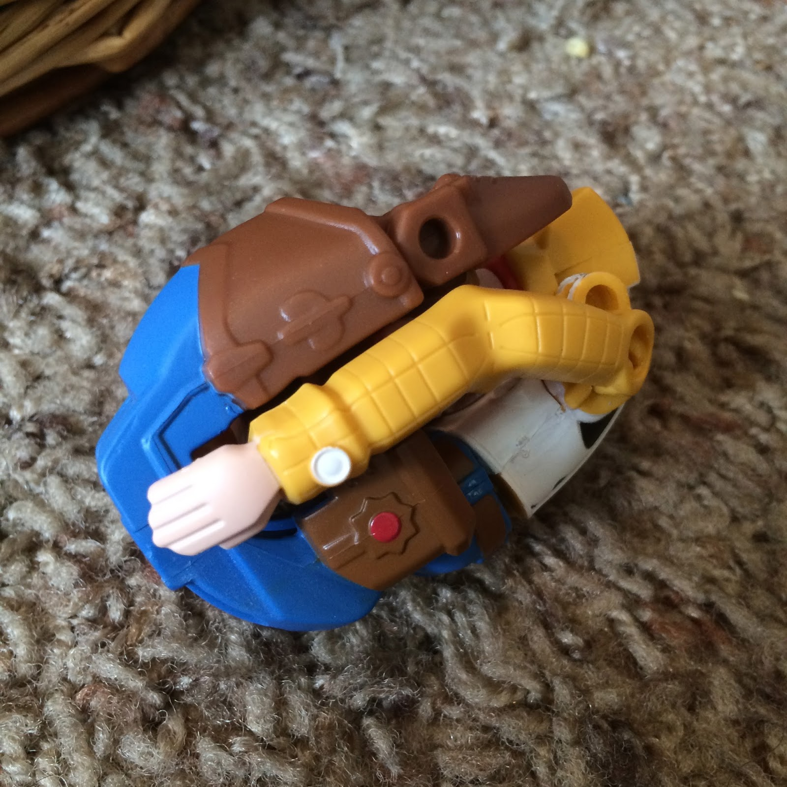 toy story hatch n heroes woody