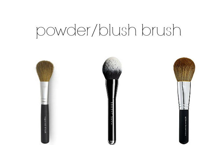 powder/blush brushes