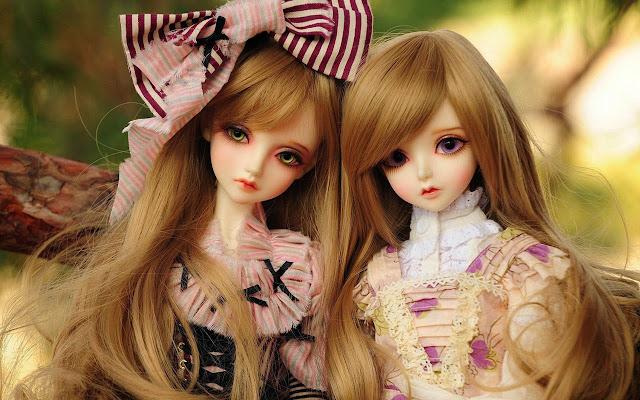 Very Cute Dolls HD Wallpaper Free