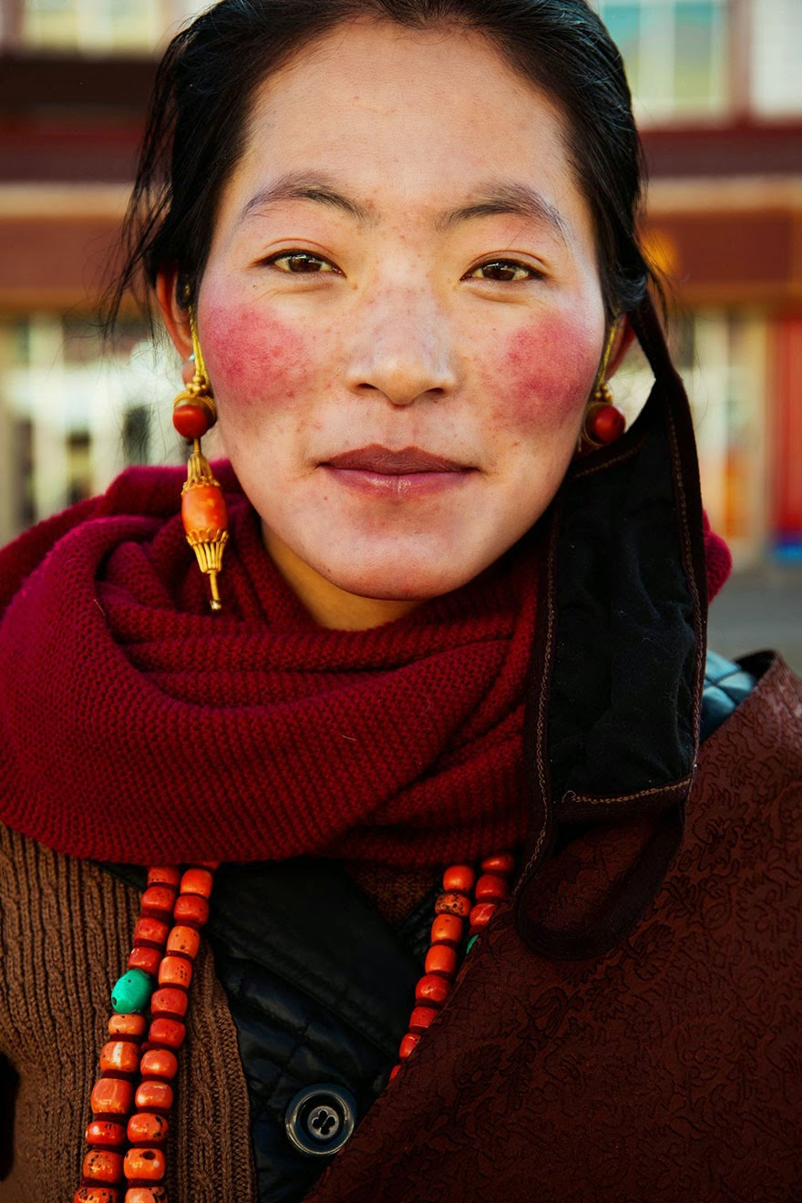 Tibetan Plateau, China - I Photographed Women From 37 Countries To Show That Beauty Is Everywhere