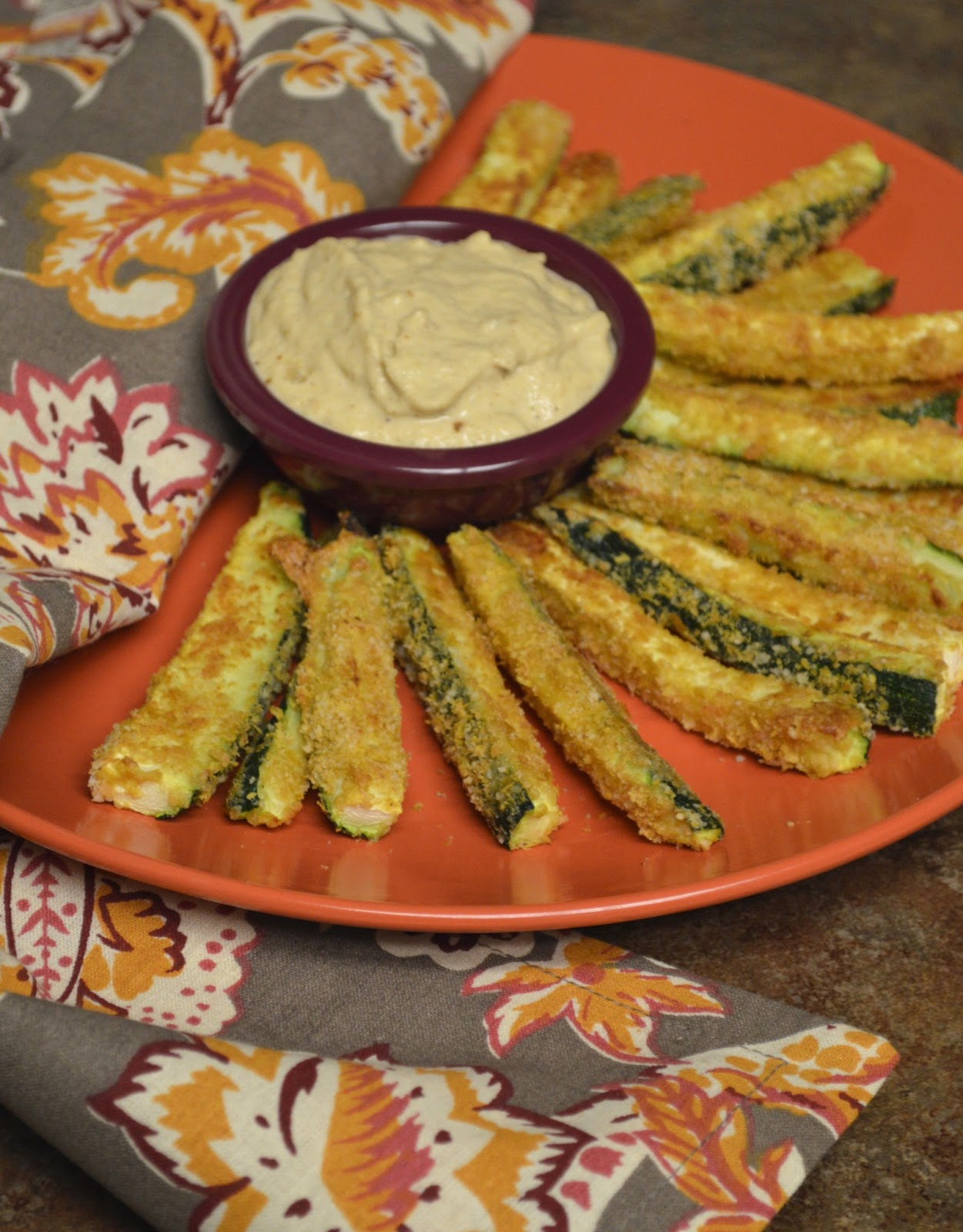 "Paleo Girl's Kitchen: ""Fried"" Zucchini and Sweet Onion Dip"