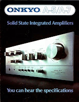 Onkyo A-7 amplifier