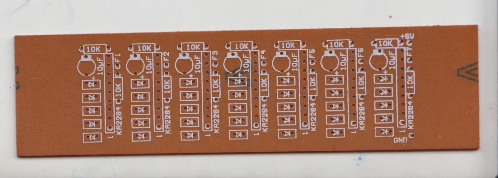 Sumith Bandara Multiple Feedback Bandpass Filter In Practical Way Notch Uses An Operational Amplifier Circuit Diagrams Free Filters Used For Above Pcb And Lm324 Quad Op Amp Is Recommended 7 Gates Channels To Separate The Audio Signal