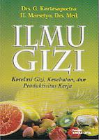 toko buku rahma: buku ILMU GIZI, pengarang kartasapoetra, penerbit rineka cipta