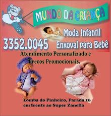 LOJA INFANTIL MUNDO DA CRIANÇA