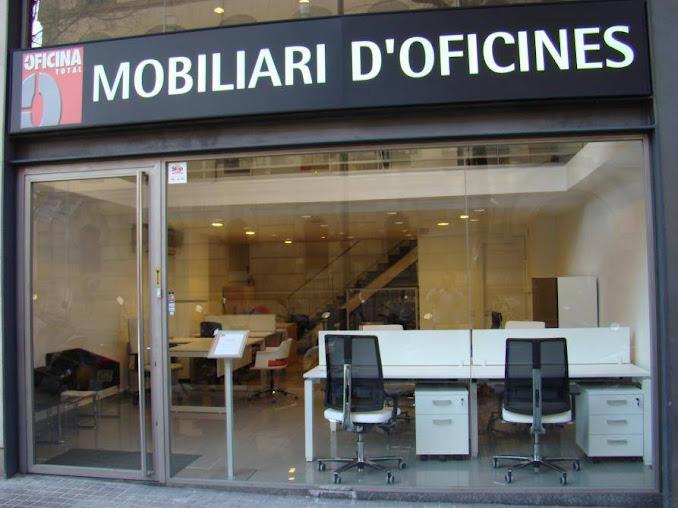 Oficina total mostradores de recepci n para empresas y for Muebles de oficina ocasion barcelona