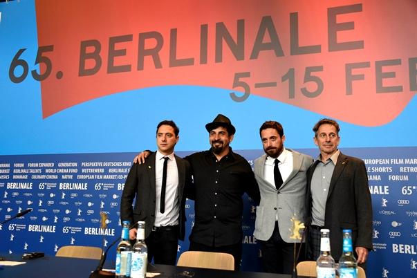 El equipo de El club en la Berlinale