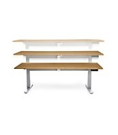 Sit To Stand Versa Desk by OFM