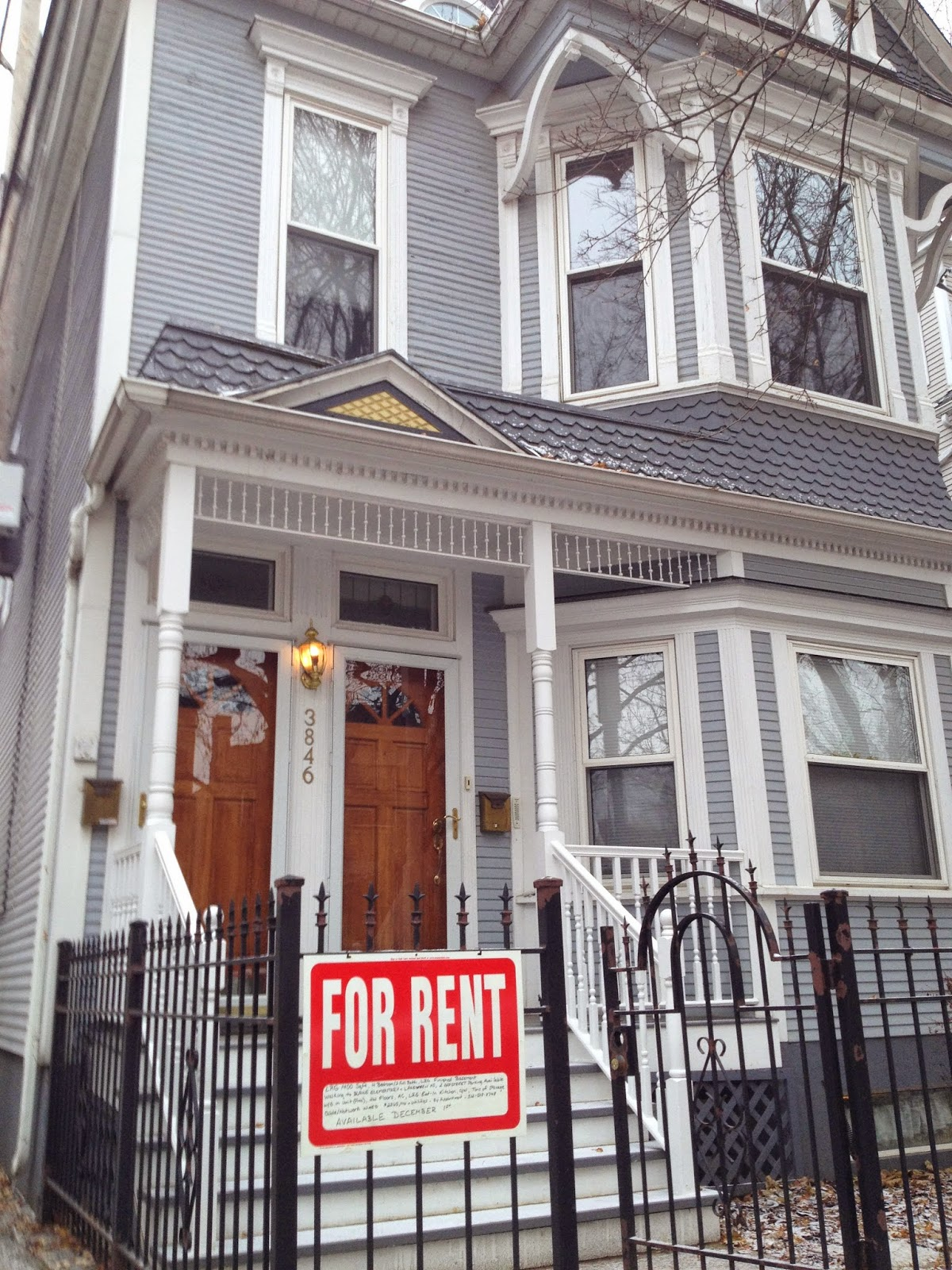 Wrigleyville neighborhood two-flat rental