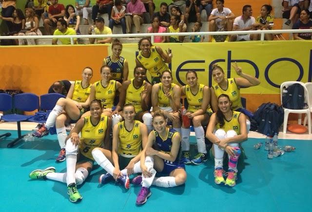 O domínio brasileiro no Sul-Americano de vôlei