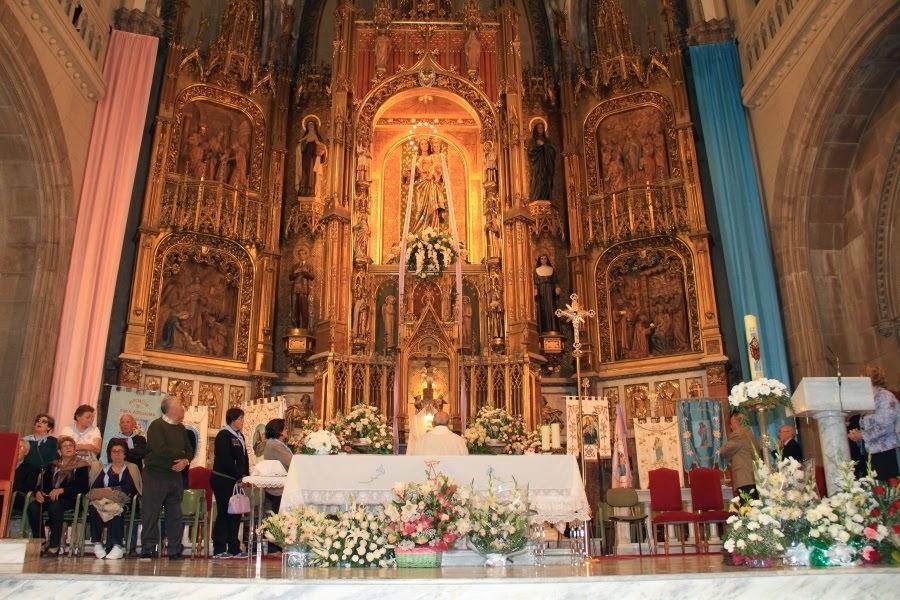 HOMENAJE MARÍA AUXILIADORA VIGO.