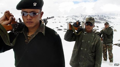 Indian Army at Disputed Himalayan Borders