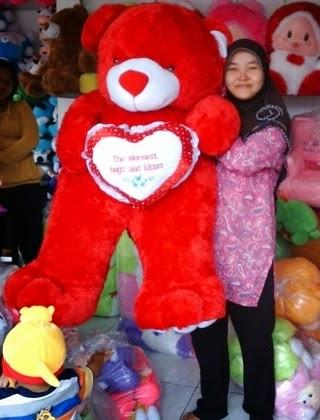 boneka beruang besar harga murah