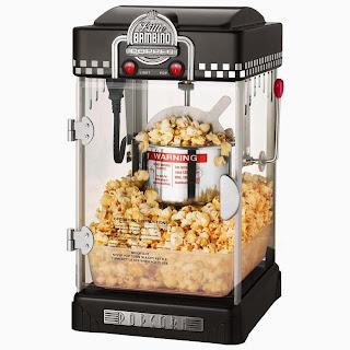 Little Bambino Popcorn Maker Black