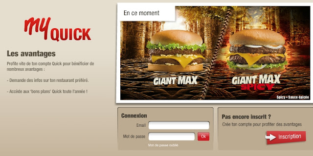 Hamburger gratuit ou des réductions chez Quick: accumulez  des Wins bon plan quick bon plan promotion quick