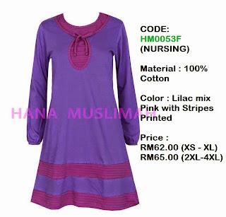 T-shirt-Hana-Muslimah-HM0053F