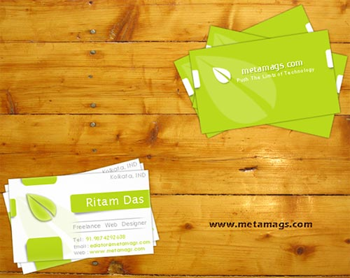 Free Business Card PSD Templates