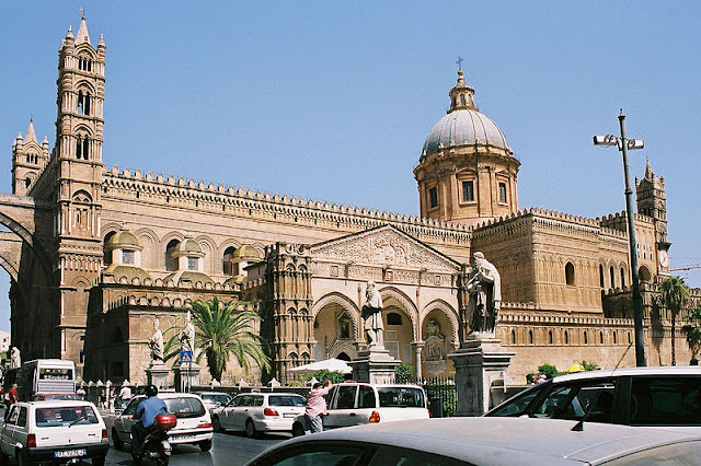 Cathedral of Palermo in Sicily, Italy